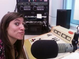 Nicole Skaff in studio